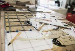 Glas in Lood Workshop Les Sureaux