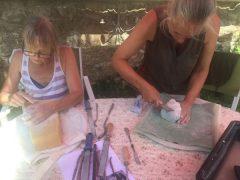 Workshop beeldhouwen met speksteen bij Sans Parure vanaf 1 mei 2020