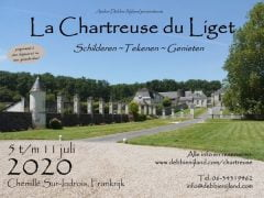Workshop / Schildervakantie 5 t/m 11 juli Chartreuse du Liget