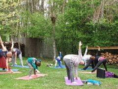 Yoga, Essentrics èn gezond eten met Pinksteren