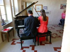 Cursus/masterclass Piano 4-mains in de Bourgogne