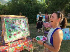 Intuïtief schilderen in de Provence