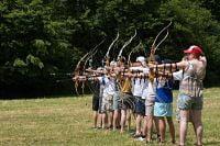 Boogschieten voor beginners én gevorderden op camping la Jonquille , begin juli